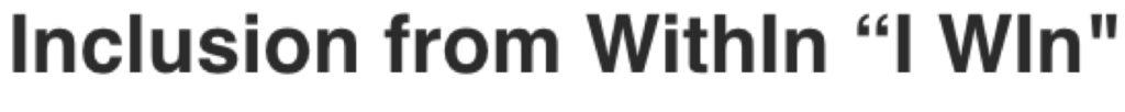 I WIn-Logo